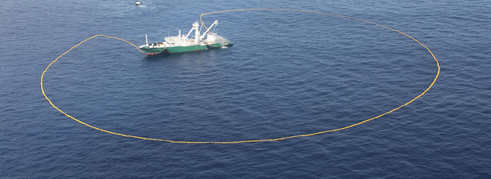 media redes de pesca